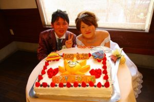 サニー号のケーキ